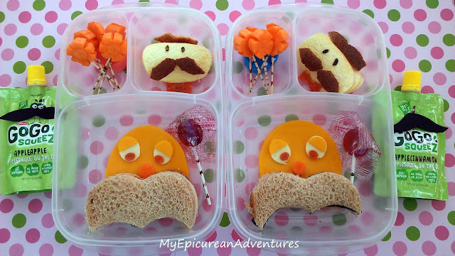 The Lorax: Nature's Own 100% Whole Wheat Bread bento