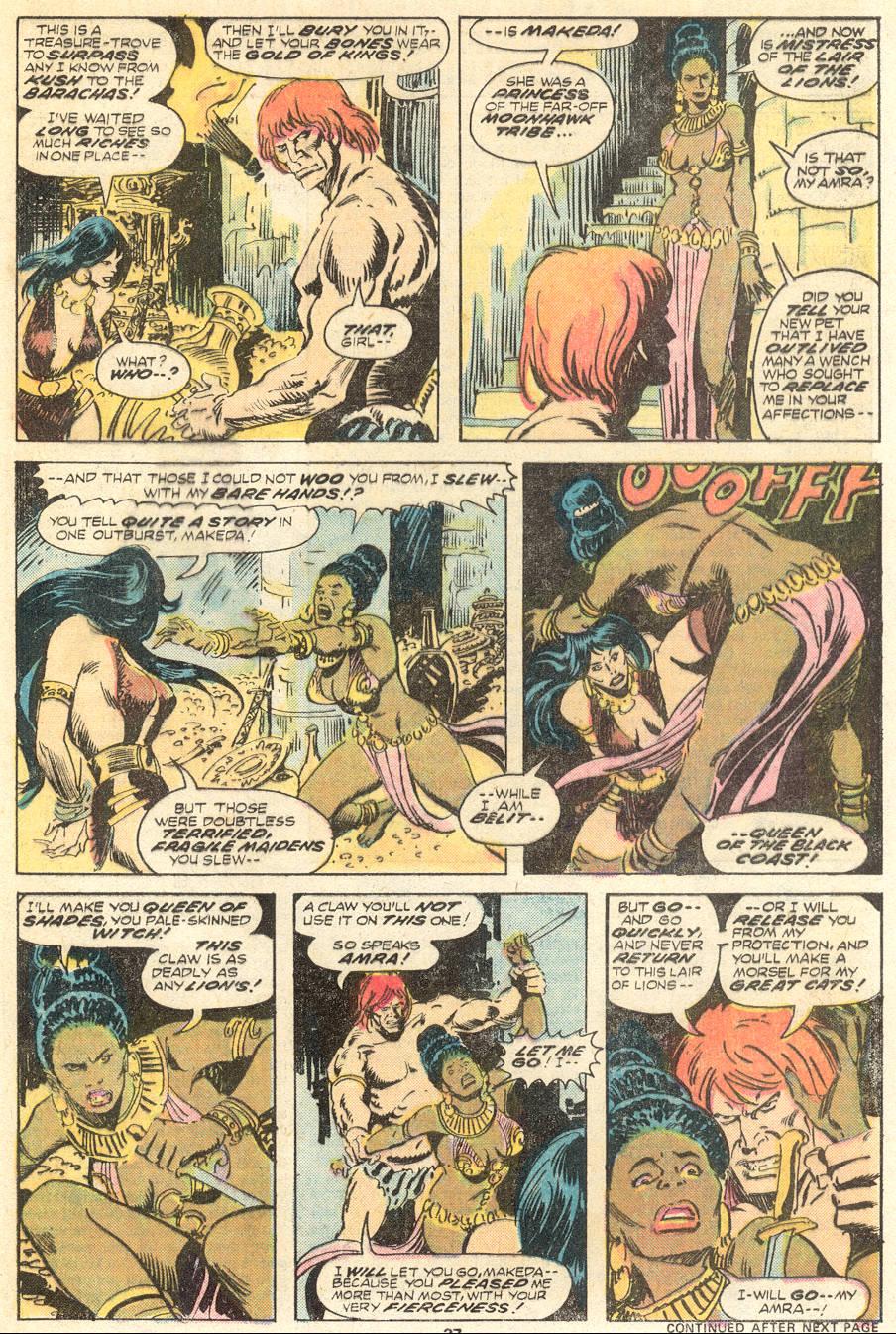 Conan the Barbarian (1970) Issue #62 #74 - English 16