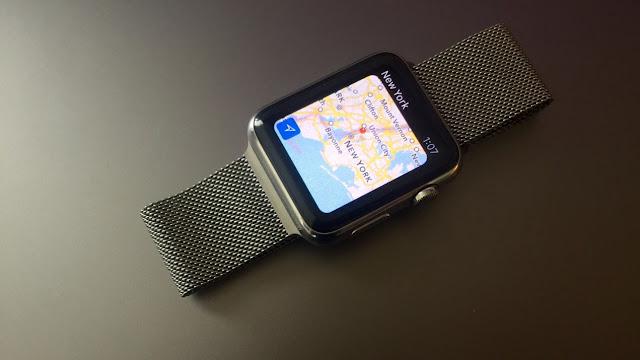 تعلم استخدام نظام الملاحة وتحديد الاتجاهات في ساعة أبل الذكية