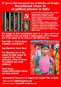 International Day of Solidarity and action for the political prisoners in India