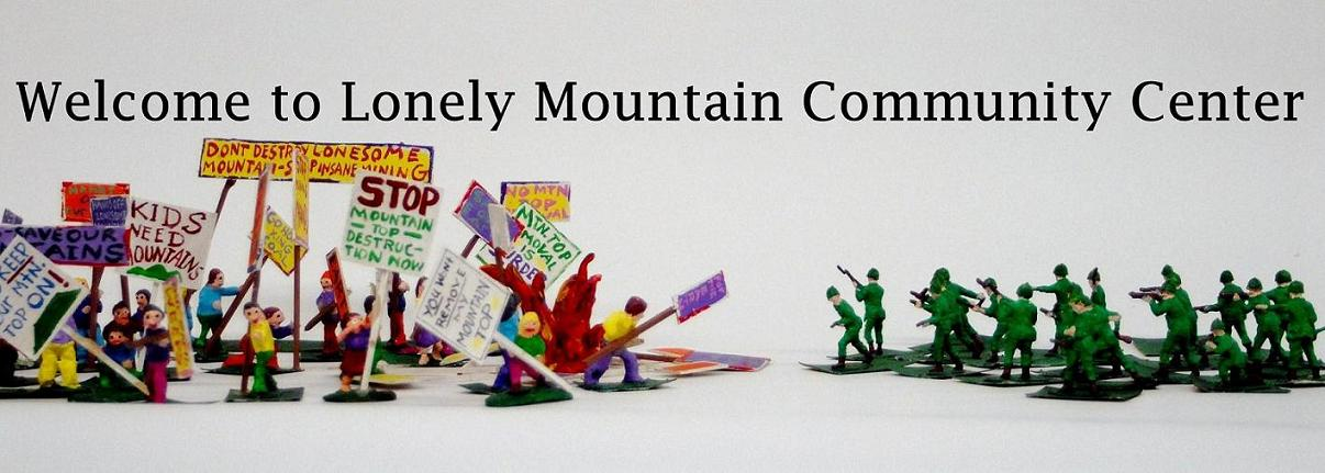 Welcome to Lonely Mountain Community Center