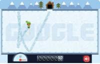 Google logo ghiaccio