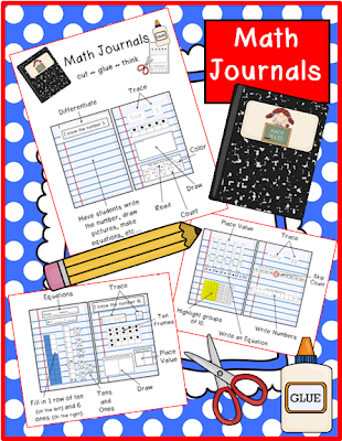 http://www.teacherspayteachers.com/Product/Math-Journals-Primary-1-10-teen-numbers-and-decade-numbers-1041458