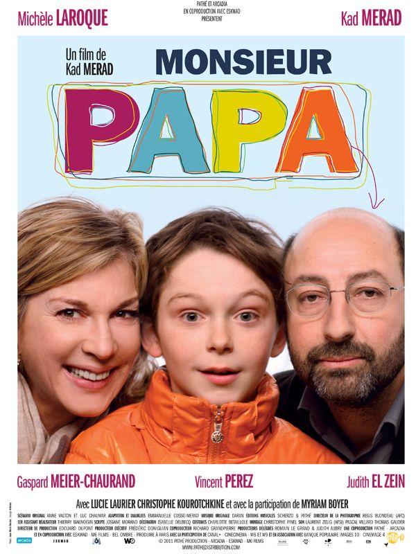 Bande-annonce Monsieur Papa film de Kad Merad