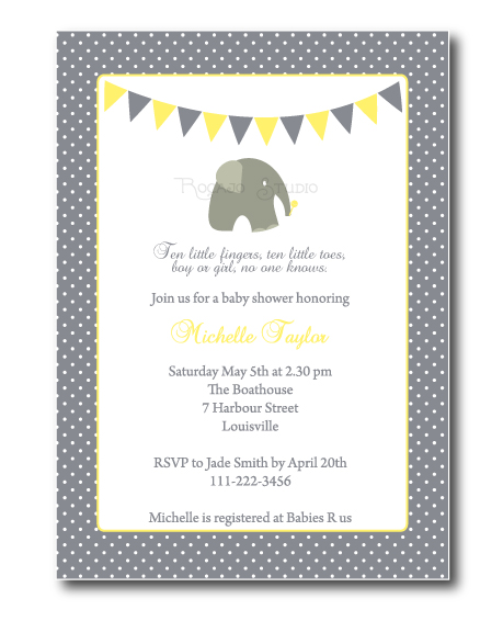 baby girl rhyming poems gender neutral elephant baby