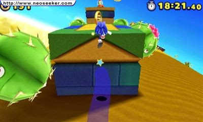 3DS Sonic Lost World Screenshot