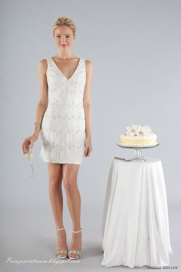 Nicole Miller Brautkleider kollektion für Herbst 2013