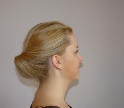 Koszyczek z włosów - zdjęcie