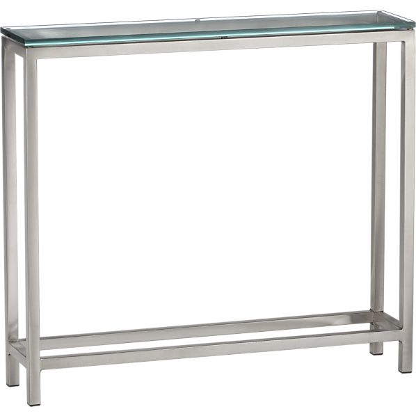 Foyer Table Crate And Barrel : Gems geodes console me