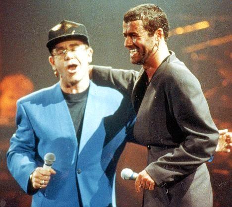 Elton John e George Michael