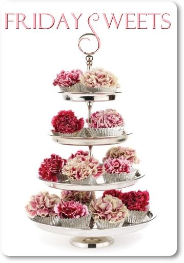 cupcakes blommor, cupcakes riktiga blommor