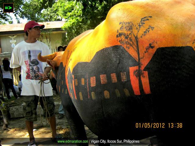 Carabao Painting