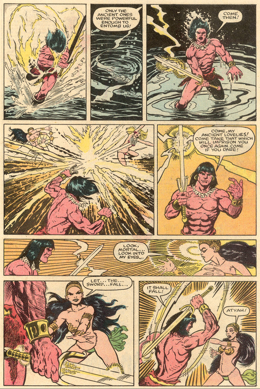 Conan the Barbarian (1970) Issue #164 #176 - English 20
