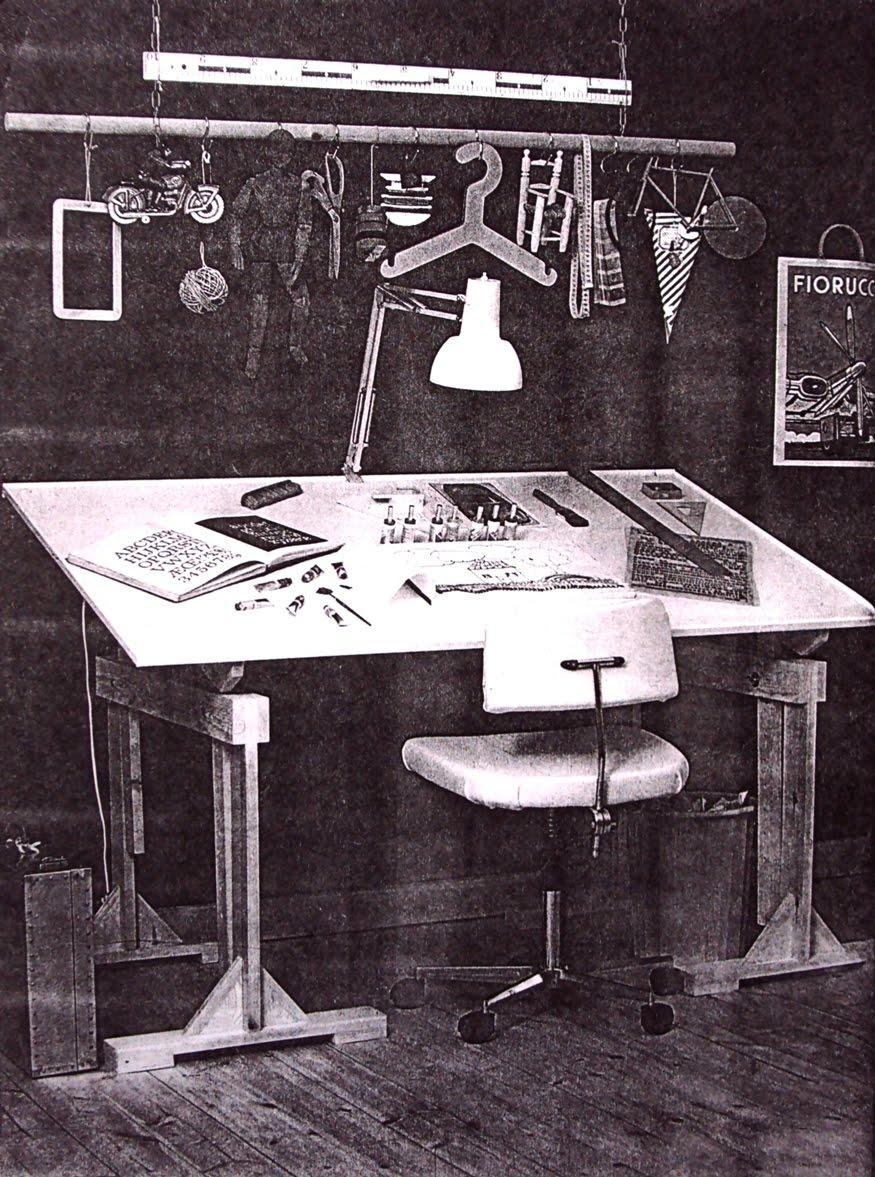 Dibujo t cnico y algo m s c mo fabricar una mesa de - Mesas de dibujo tecnico ...