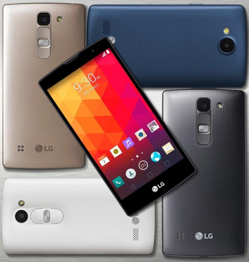 New LG phone details