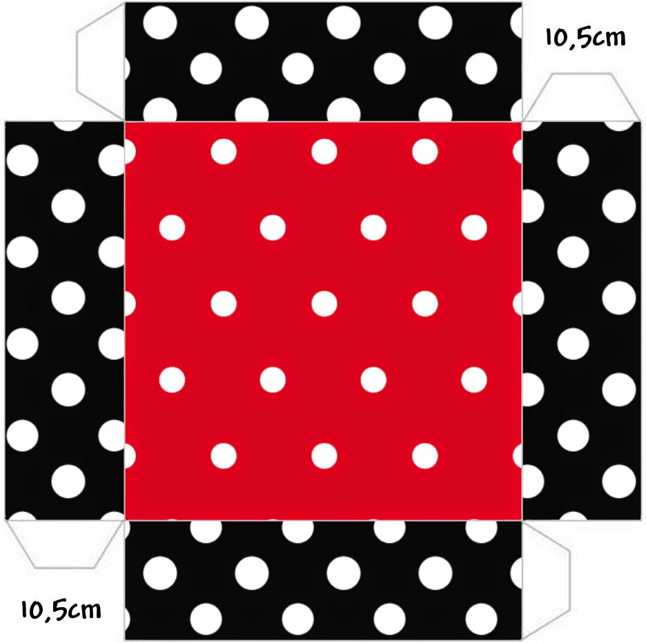 red black and polka dots free printable boxes is it for