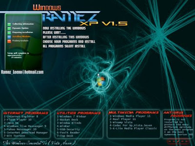 Windows XP Ramez OEM 2010 With SATA