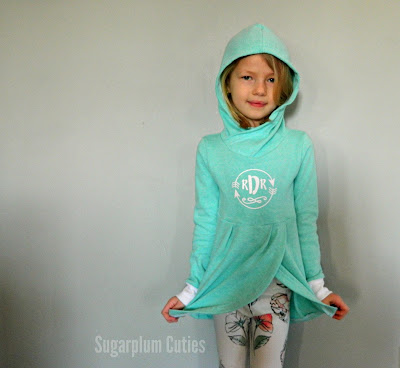 Sugarplum Cuties: Girls Lisse Hoodie