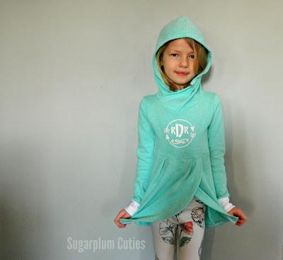 Sugarplum Cuties: Girls Lisse Hoodie
