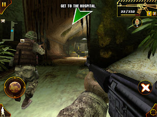 game android modern combat sandstorm HD (qvga)