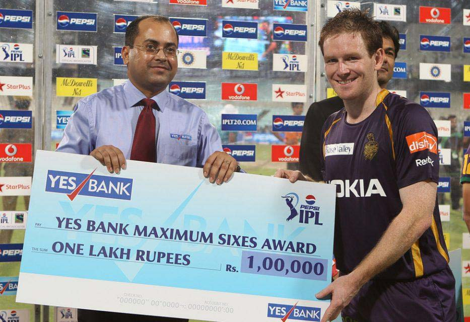 Eoin-Morgan-Maximum-Sixes-KKR-vs-KXIP-IPL-2013