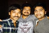 Simbu had a blast in midnight with Vijay and Dhanush