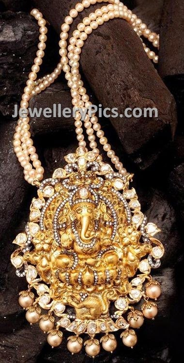 Handcrafted Antique Ganesh pendant