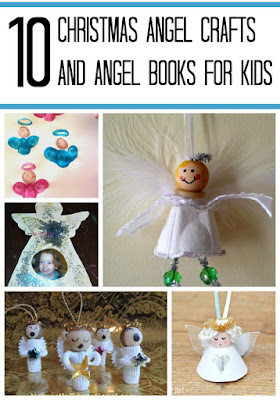 Christmas angel crafts and angel books for kids