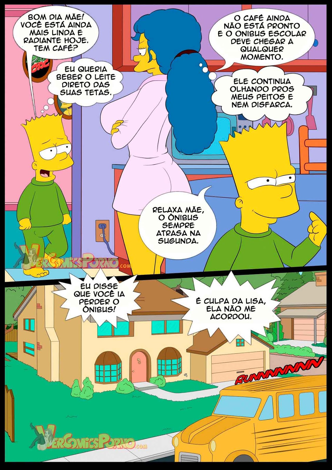 You hentai brasil simpsons com