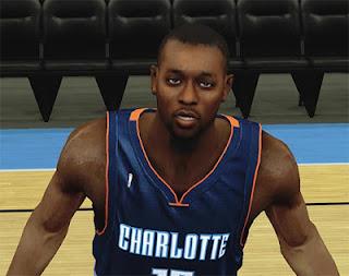 NBA 2K13 Kemba Walker Cyberface Mods