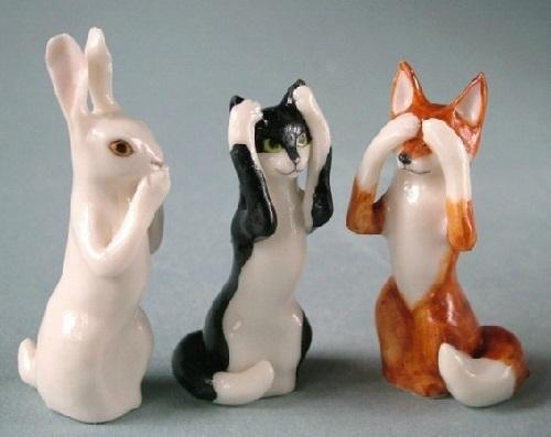 handmade miniature porcelain