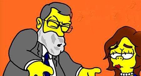 Mariano Rajoy aparecerá en 'Los Simpson' como un presidente poco inteligente y algo corrupto Rrajjoys