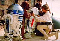 R2D2, R5D4 & Luke
