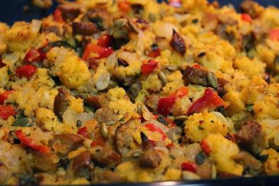 Southwestern cornbread stuffing