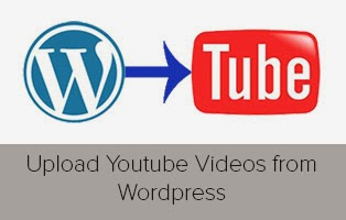 uploading youtube videos from wordpress