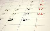 Calendario de carreras