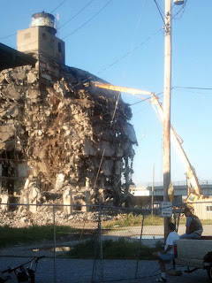 Demolition of the Storage Building on Abbey