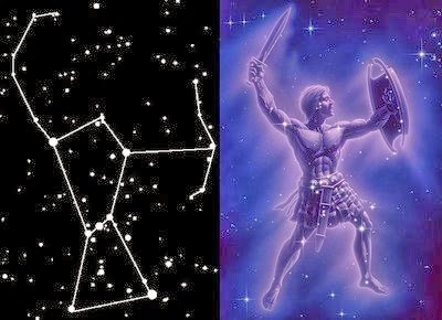 constelación orion
