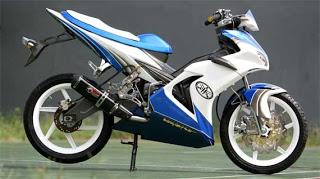 modifikasi Yamaha Jupiter MX