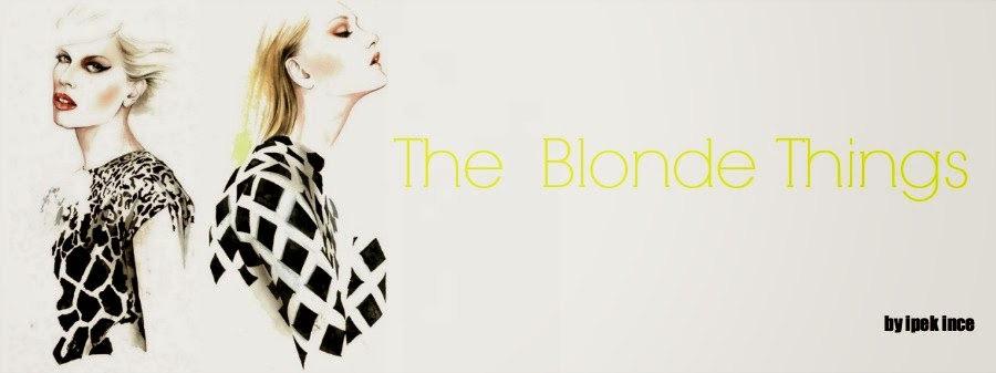 The Blonde Things- Moda Blogu-Moda-Tren blonde
