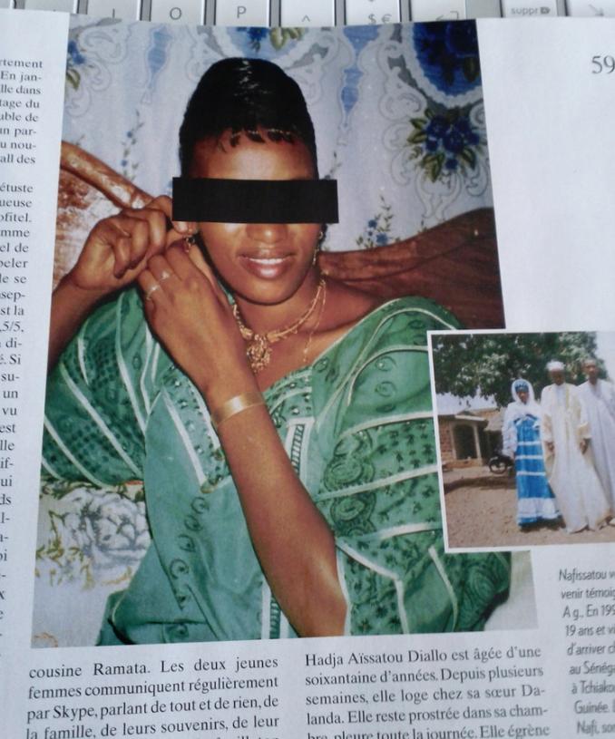 femme de chambre photo Nafissatou Diallo DSK