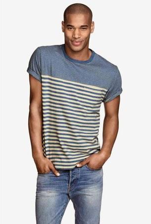 camisetas de hombre H&M para un look casual