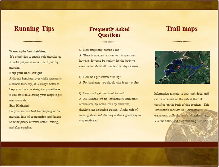 what is a trail guide