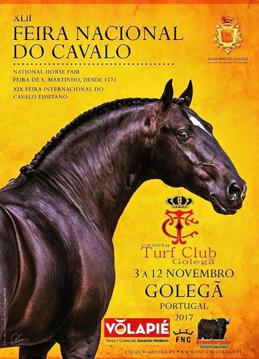 GOLEGÄ (PORTUGAL) DEL 03 AL12 DE NOVEMBRO-2017. FERIA NACIONAL DO CAVALO.