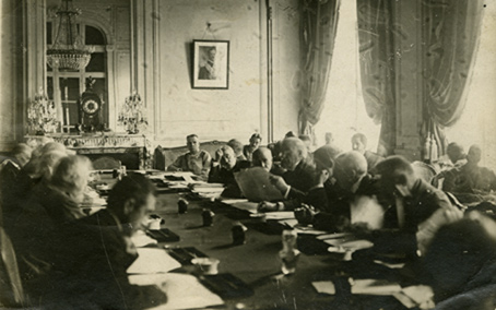 a history of the paris peace conference Modern japan in archives: political history from the opening of the country to post - skip to menu  the first world war and japan  paris peace conference.