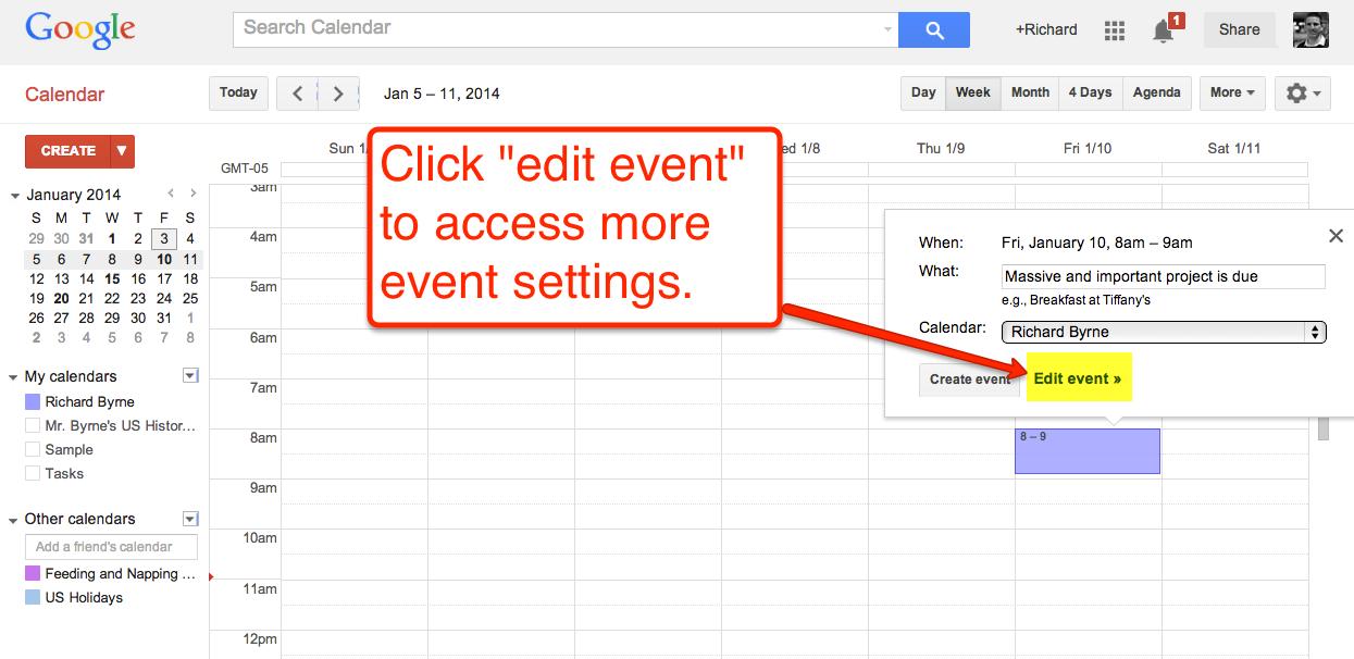 How To Create Google Calendar Event Reminders Todoele 2 0