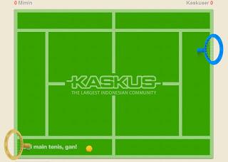 Kaskus main tenis!