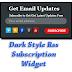 Dark Style Rss Subscription Widget For Blogger