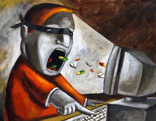 Los adictos a la internet sufren cambios cerebrales similares se producen también en los adictos a las bebidas alcohólicas, la cocaína