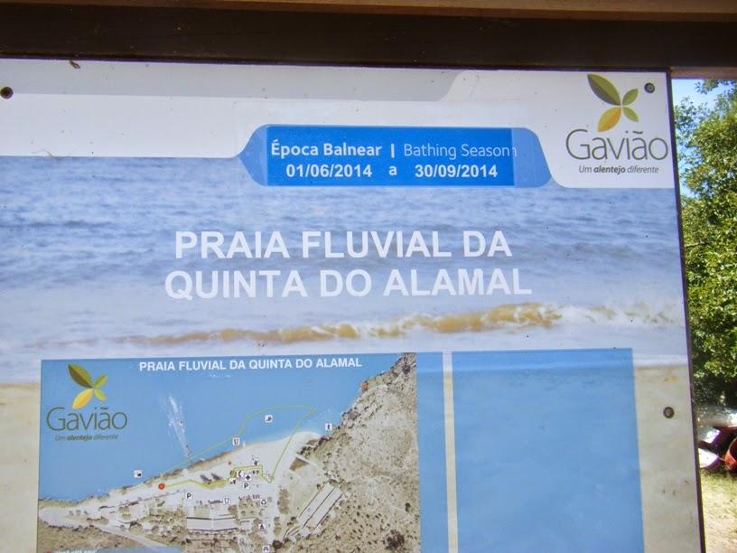 Informação Praia Fluvial da Quinta do Alamal